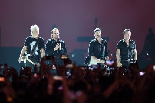 U2、インド初公演で2年間の記念ツアー締めくくる