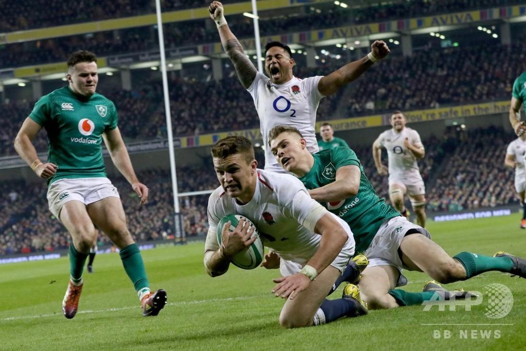 イングランドが昨季王者アイルランド破る、エディHC「もっと良くなる」