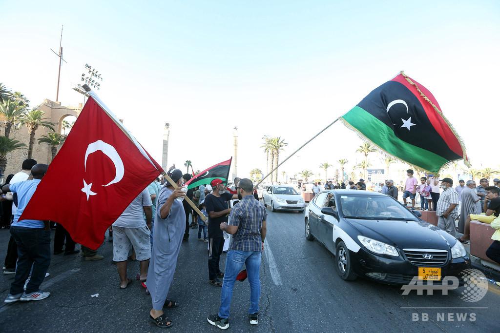 リビアで「危険なゲーム」演じているのはフランス、トルコが反論