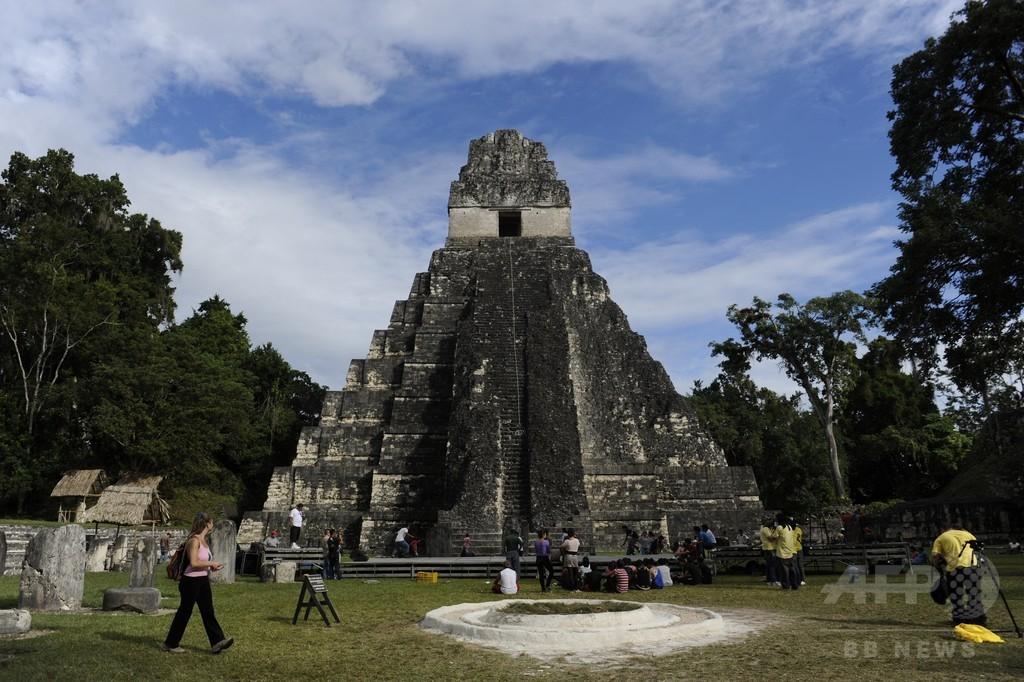 マヤ文明の建造物6万個、空からのレーザー調査で発見 グアテマラ