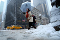 米北東部で大雪、3000便欠航 NY国連本部も閉鎖