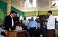 ミャンマー閣僚、ロヒンギャの難民キャンプを訪問 大量流入以降初