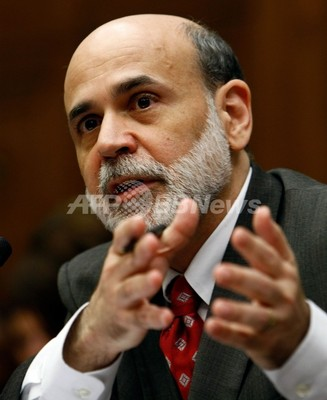 米経済に「顕著な改善」、バーナンキFRB議長が議会証言