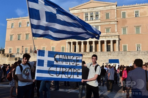 「国民投票でイエスを」 欧州首脳らギリシャ国民に呼びかけ
