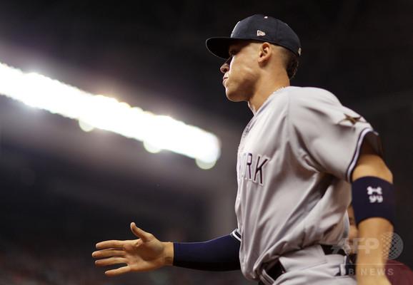 ヤンキースのジャッジ、シーズンの連続試合三振記録を更新