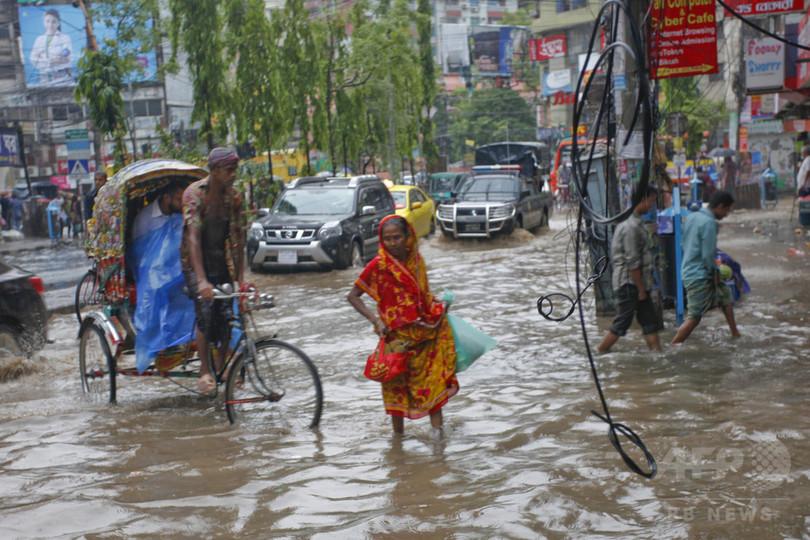バングラデシュで「前例ない」落雷被害、3日間で59人死亡