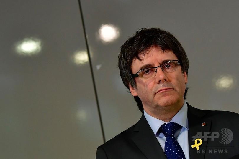 スペイン最高裁、カタルーニャ前首相らの国際逮捕状取り下げ