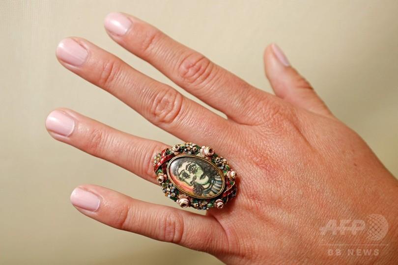 ピカソの肖像画入り指輪、競売へ 愛人のために制作