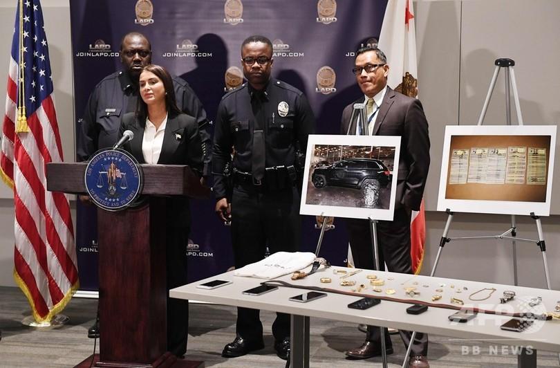 リアーナさんも被害、米ロサンゼルスの著名人宅で連続窃盗 4人組逮捕
