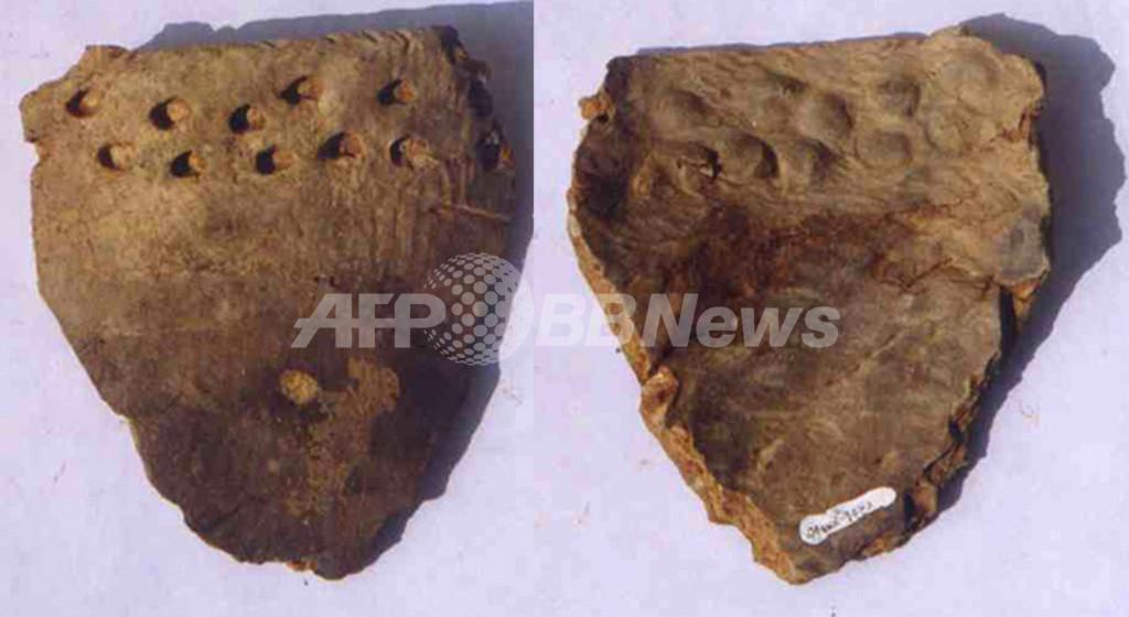 中国で世界最古の陶器片を発見、2万年前