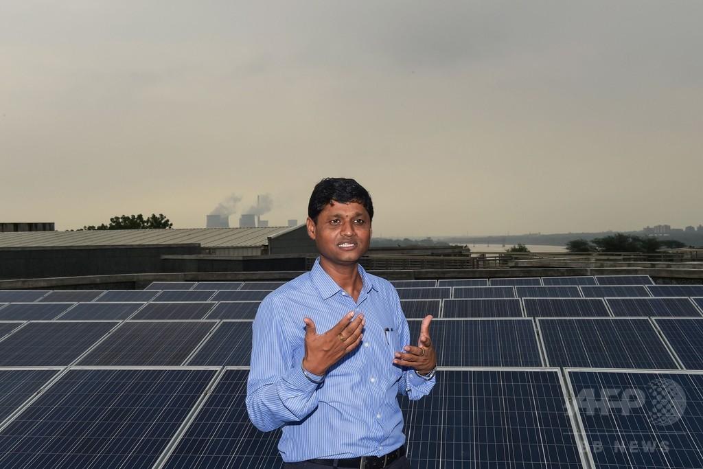 インド、太陽光発電に影落とす大気汚染 スモッグなどで25%減少