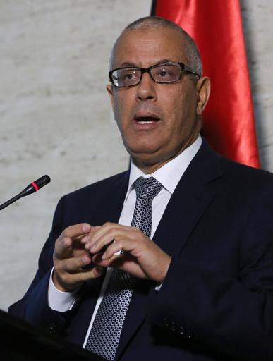 武装集団に拉致されたリビア元首相、9日ぶりに解放