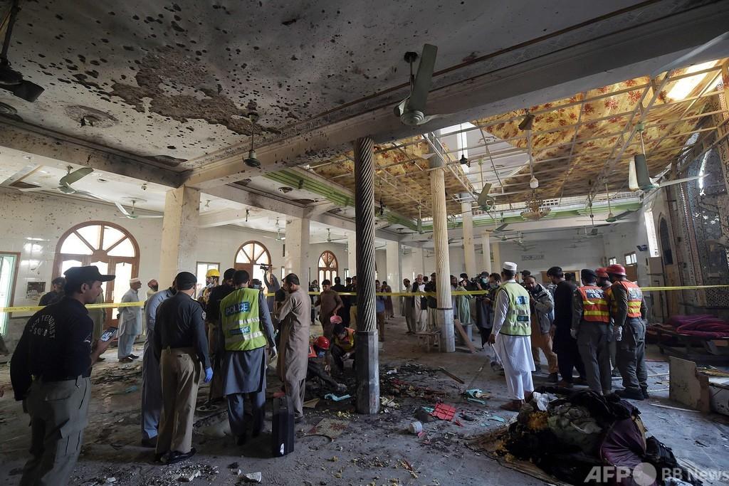 イスラム神学校で爆発、7人死亡 70人負傷 パキスタン