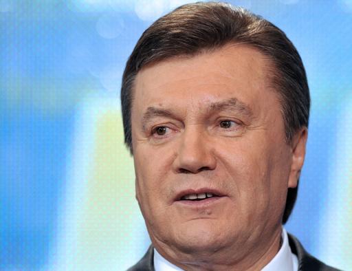 ウクライナ大統領選、親露派ヤヌコビッチ氏が勝利宣言