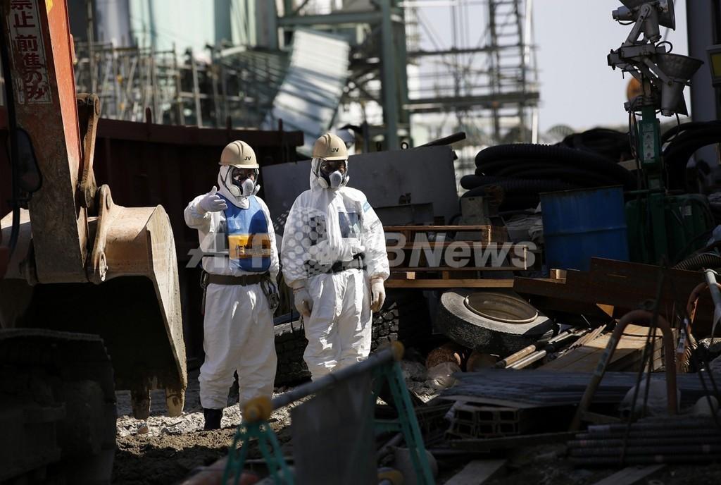 福島第1原発の冷却装置が一時停止、全て復旧