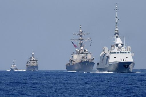 イスラエル海軍、米仏などと大規模合同演習 「軍事大国」強調