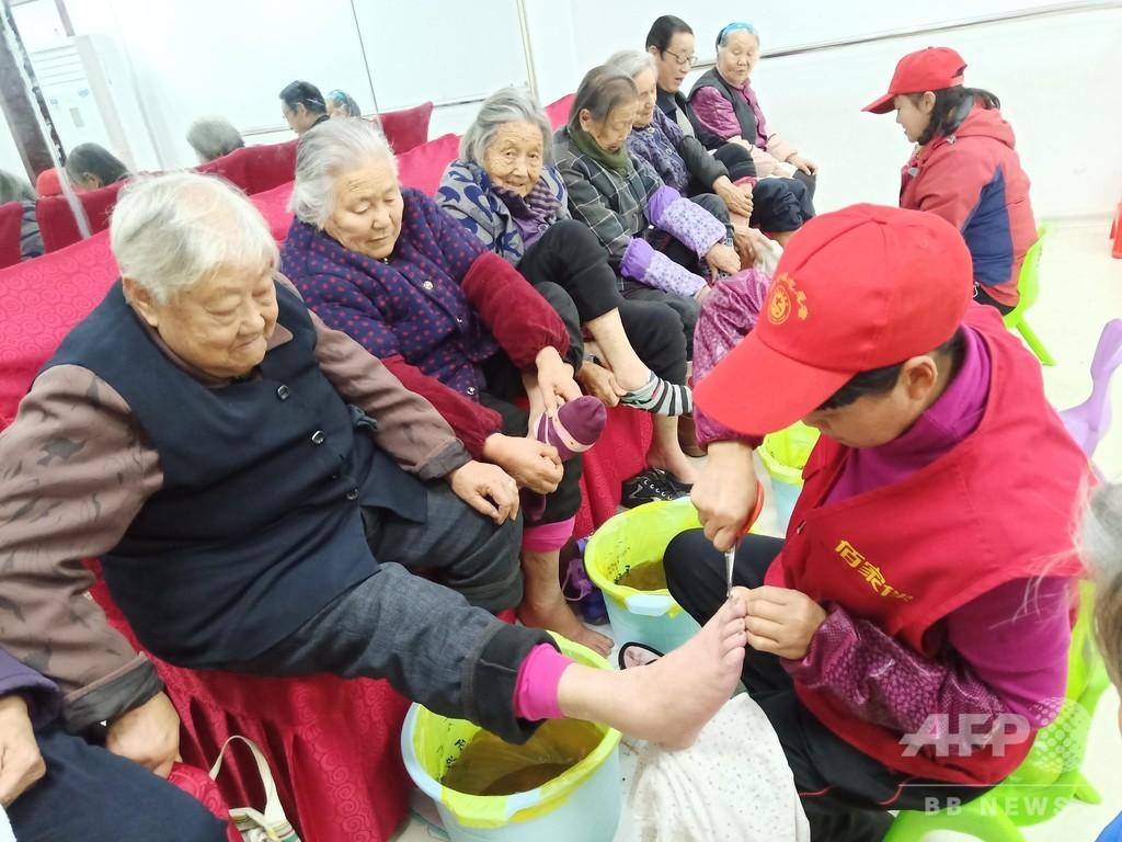 高齢者の「小さな願い」、QRコードでかなえます 北京