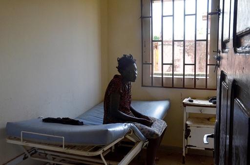 ガボン唯一の精神科病院、患者を「動物扱い」