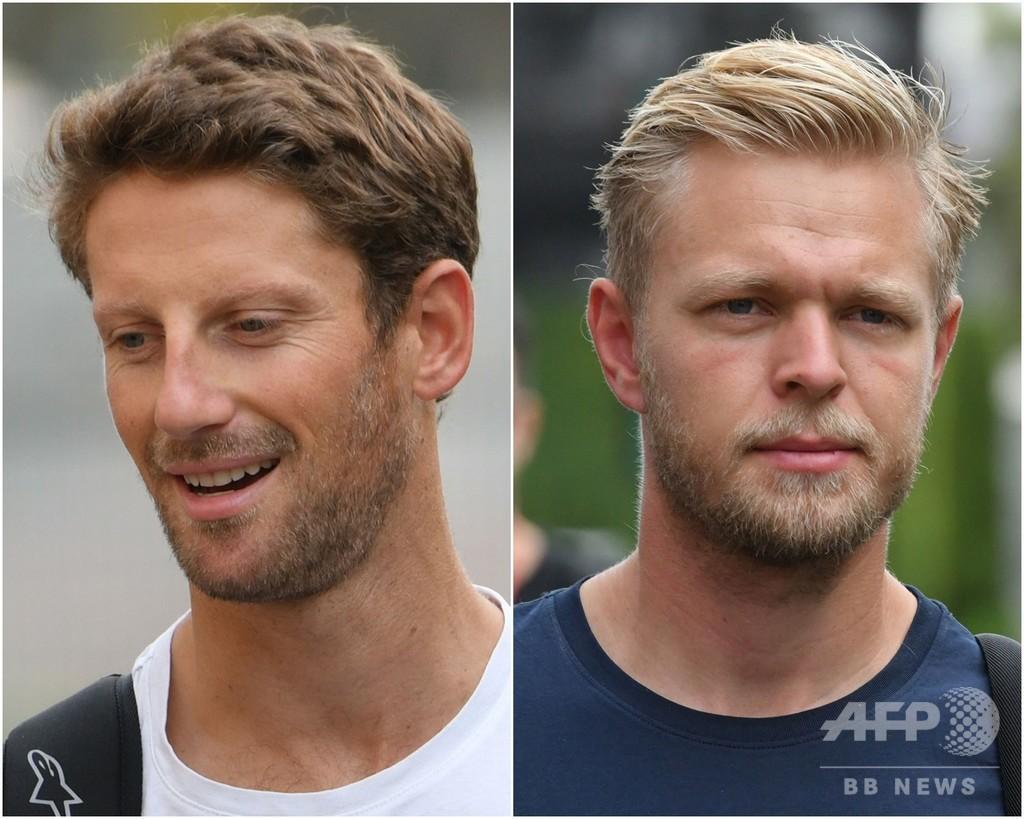 今季不振のハースF1、2020年もグロージャンとマグヌッセンを起用
