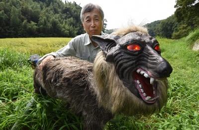 害獣対策ロボ「スーパーモンスターウルフ」 千葉