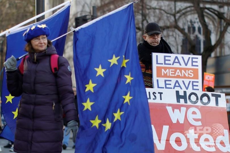 英の「合意なきEU離脱」で60万人失職の恐れ、独研究所