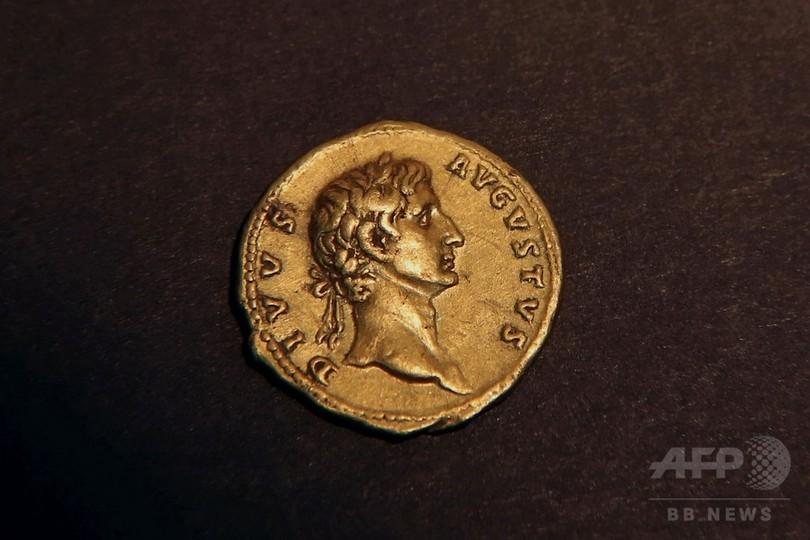 トラヤヌス帝時代の金貨、ハイカーが発見 イスラエル