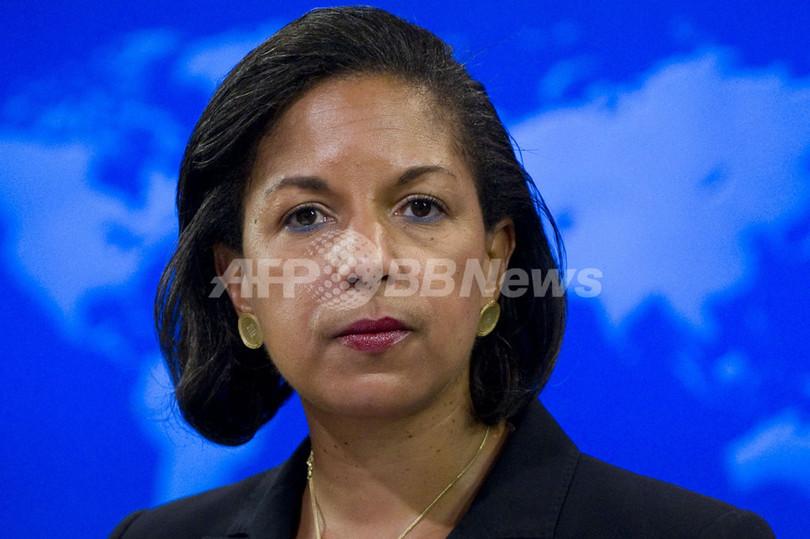 ライス国連大使、国務長官への指名辞退