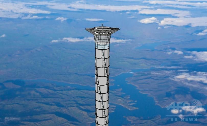 カナダ企業、「宇宙エレベーター」の特許取得