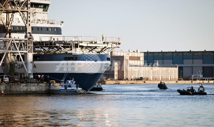 中国、初の国産砕氷船建造へ 14年の就役目指す
