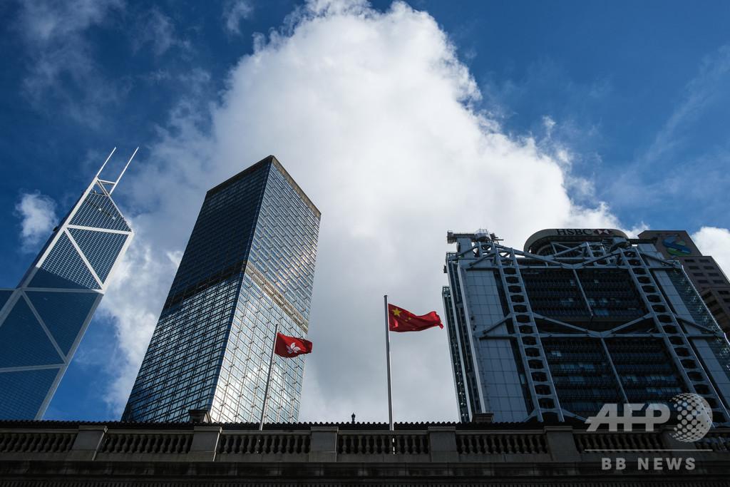 香港の競争力、避けられない低下 単なる中国の一都市に