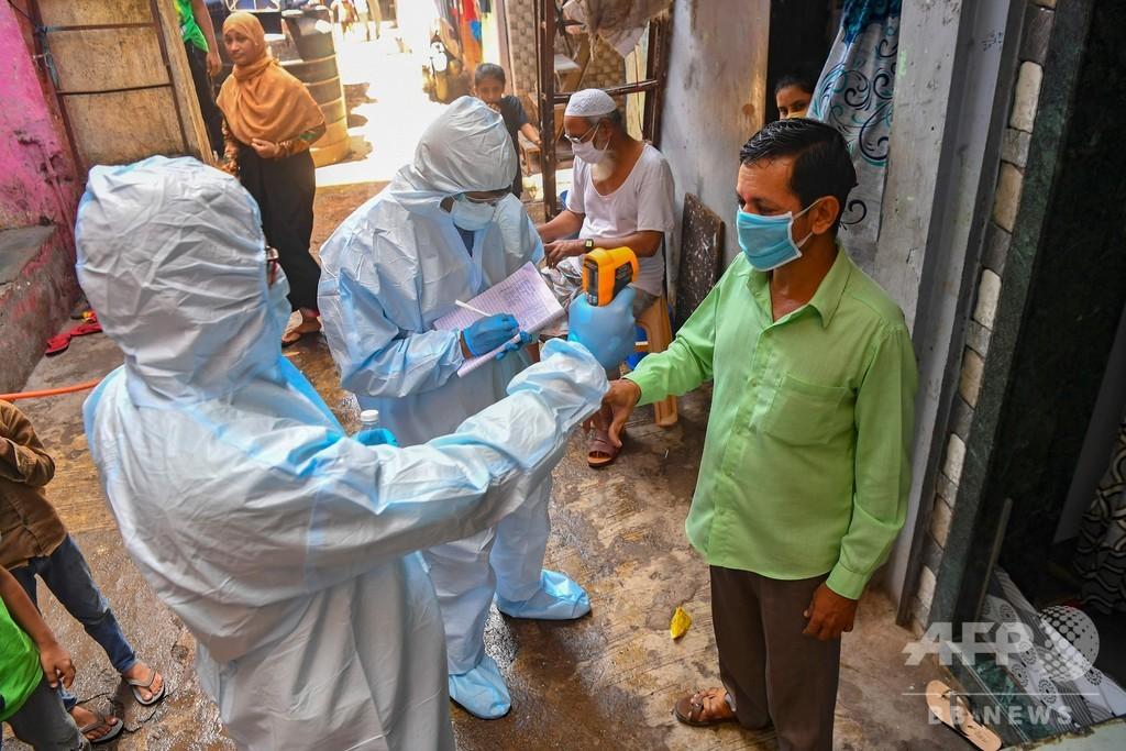 インドの巨大スラム街に希望の光、積極策でコロナへの勝利目前に