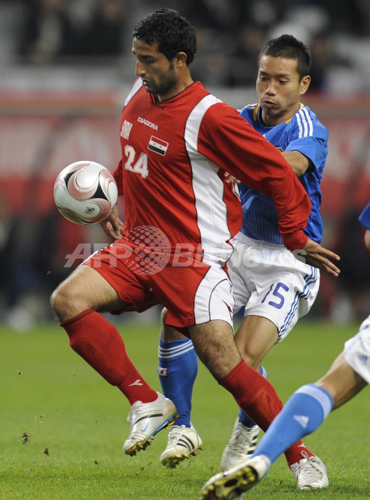 サッカー日本代表、シリアに3-1で快勝