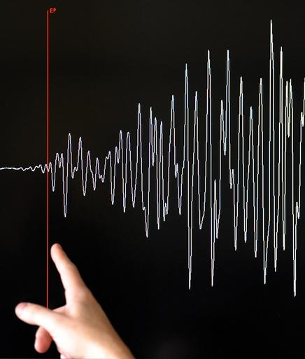 台湾でM6.0の地震、津波の心配なし