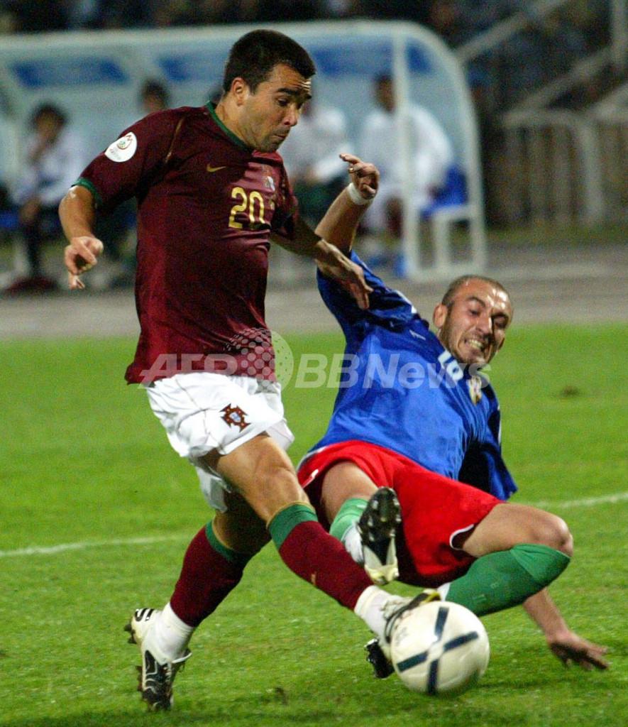 <サッカー 欧州選手権2008・予選>ポルトガル アウェーでアゼルバイジャンに勝利