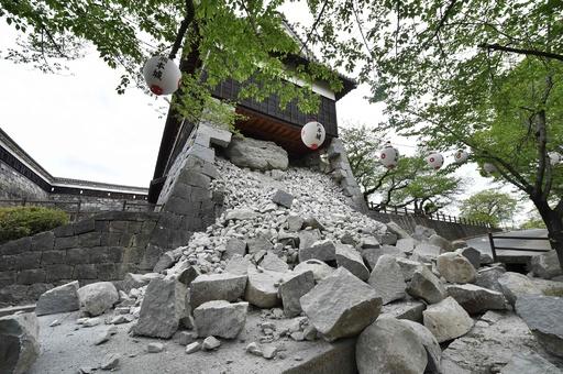 14日からの地震の死者35人に、避難者9万人以上 熊本