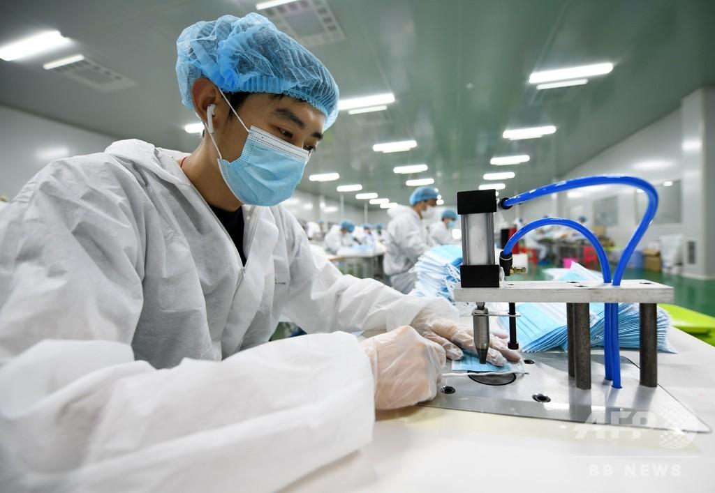 30万枚の「鉄路ブランド」マスクを日本へ輸出 中国・江西省