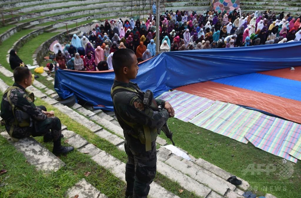 フィリピン軍、ラマダン明けでマラウィでの戦闘を一時停止