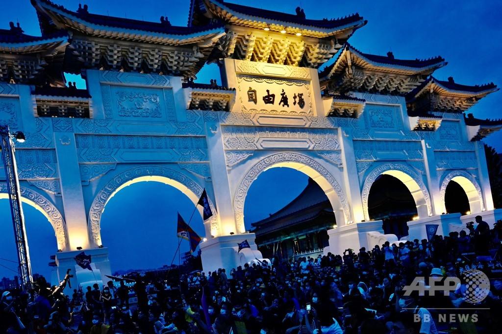 香港の次は自分たち…国家安全法施行におびえる台湾