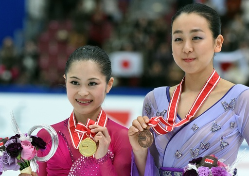 宮原が初優勝、浅田は3位に入る NHK杯