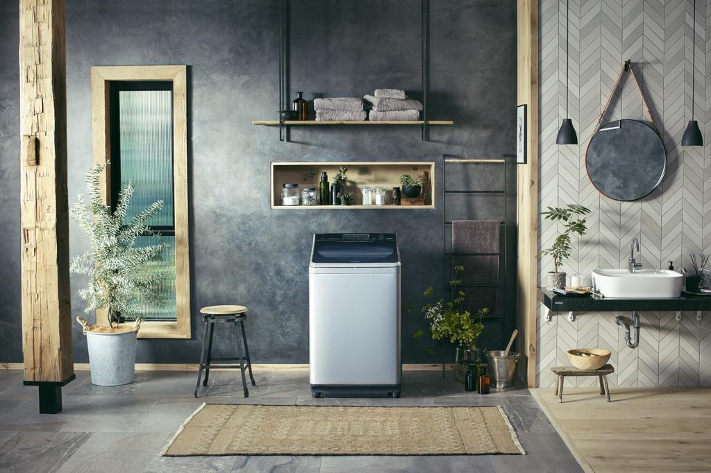 「パナソニック」からスタイリッシュな縦型洗濯機が登場