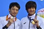 古賀が大会新で男子50m背泳ぎ制す、入江は銀 アジア大会