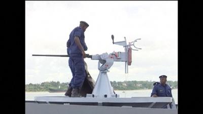 動画:ケニア初の沿岸警備隊が発足、汚染管理や違法漁業の摘発へ