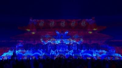動画:中国・故宮、一般公開後94年で初の夜間開放 春節祝い締めくくり