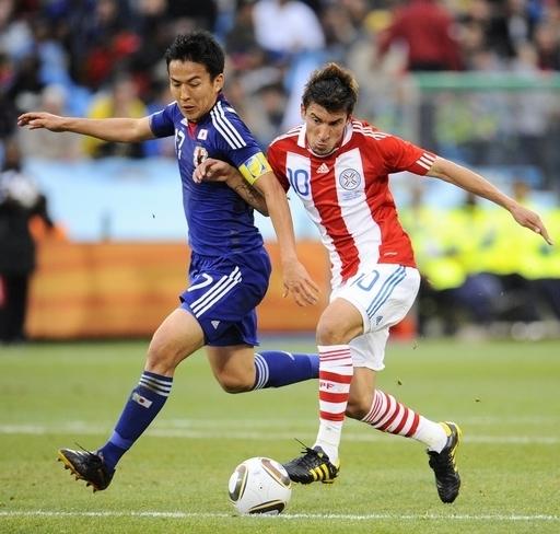 日本、PK戦の末敗れる パラグアイ8強 W杯