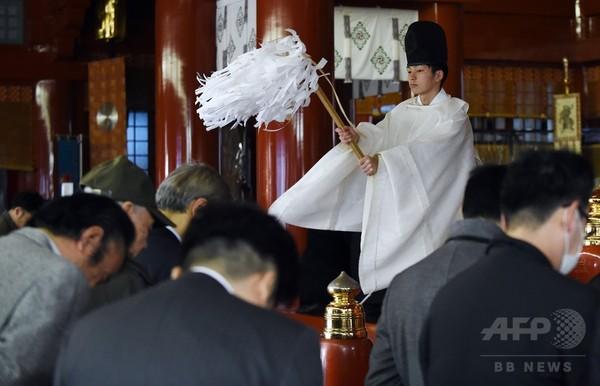 神田明神で仕事始めの参拝、願うは商売繁盛