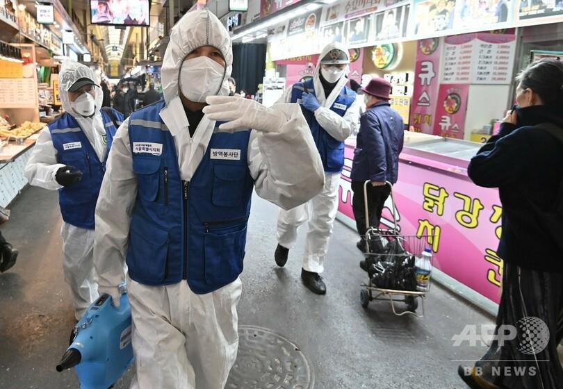韓国 再 感染