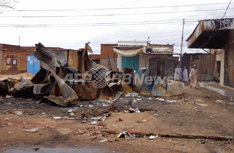 治安悪化のスーダン・ダルフール、州都の市街戦で住民困窮
