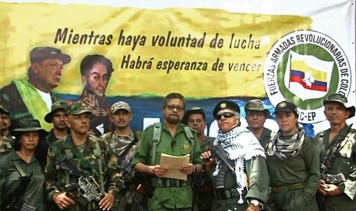 コロンビアの元左翼ゲリラ幹部、戦闘再開を宣言 和平交渉の元代表者
