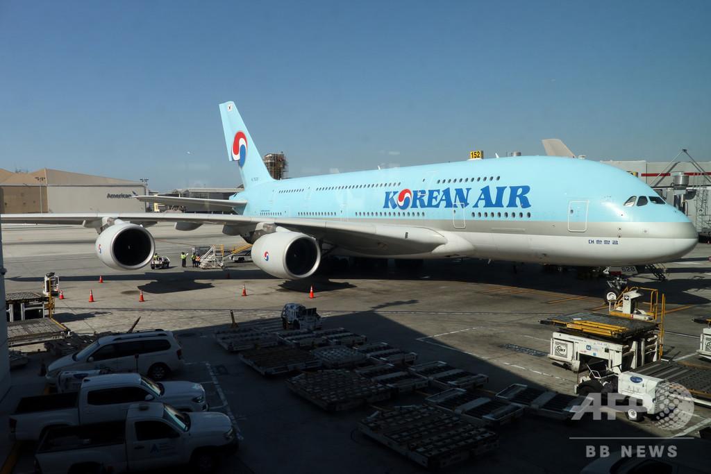 韓国の大韓航空、従業員の7割を一時帰休に 新型コロナで打撃