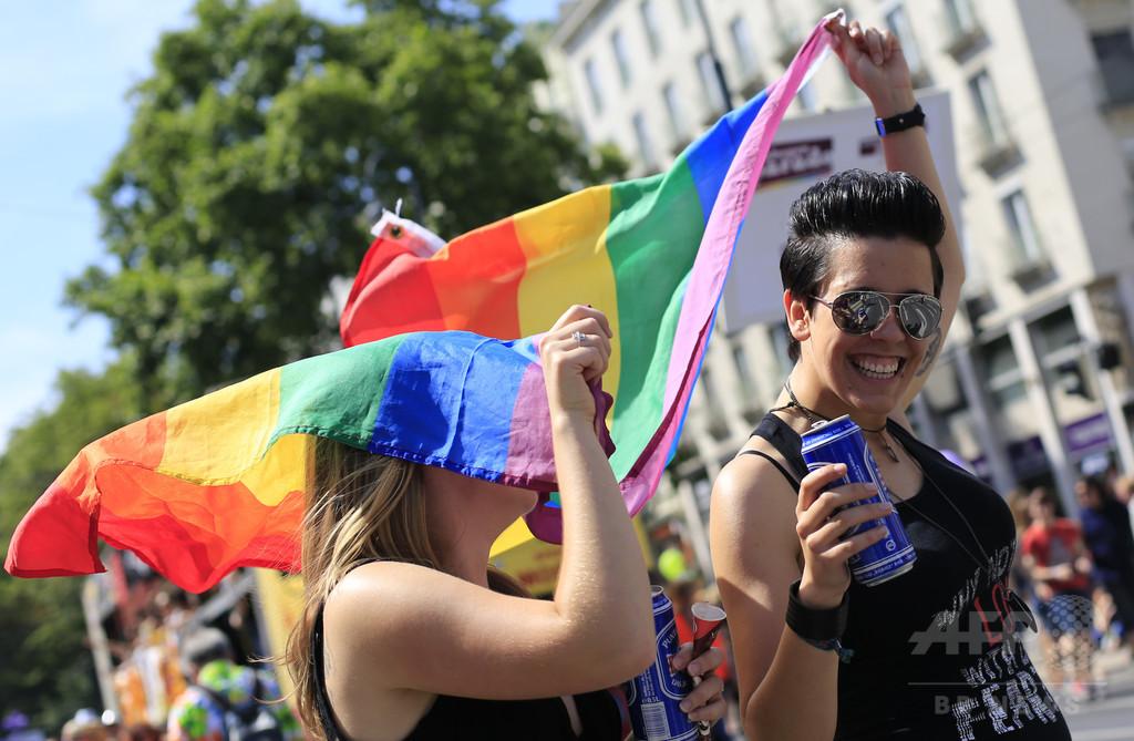 オーストリア、同性婚を合法化へ 憲法裁が判断